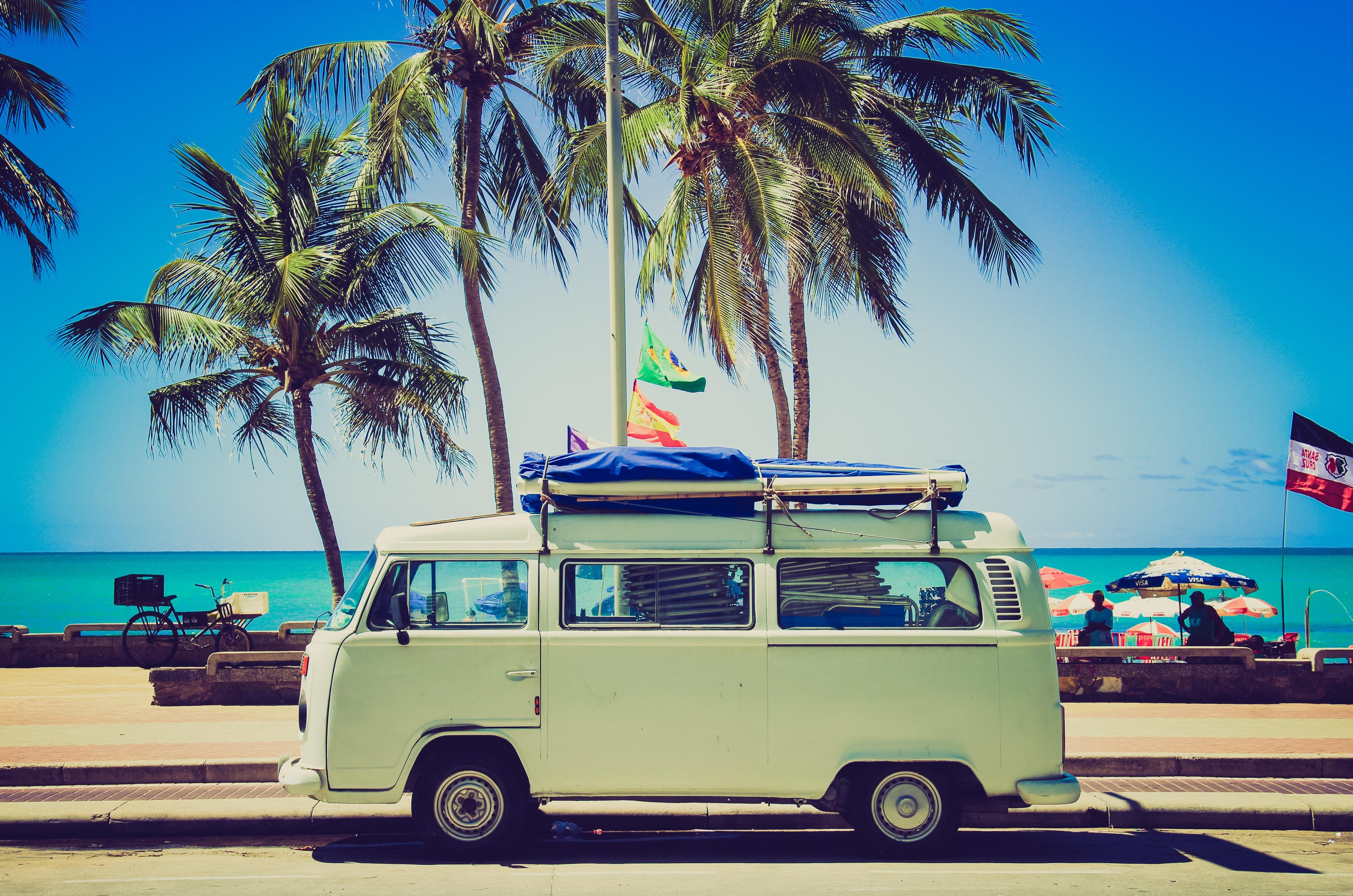 summer holidays camper van